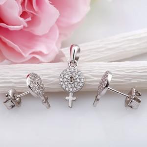 Bộ trang sức bạc Girly