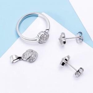 Bộ trang sức bạc Gise Love