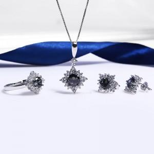 Bộ trang sức bạc Haki Love