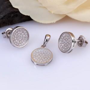 Bộ trang sức bạc Hani Circle