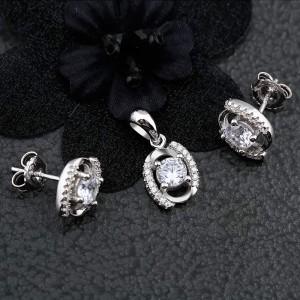 Bộ trang sức bạc Holiday