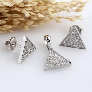 Bộ trang sức bạc Humun Pediment