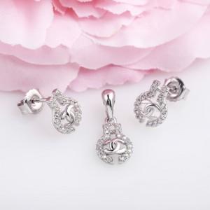 Bộ trang sức bạc Jelly
