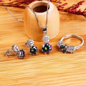 Bộ trang sức bạc Katina Love