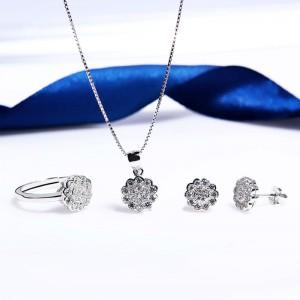 Bộ trang sức bạc Kenvin Love
