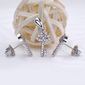 Bộ trang sức bạc Key Love