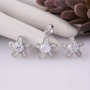 Bộ trang sức bạc Klewn Love