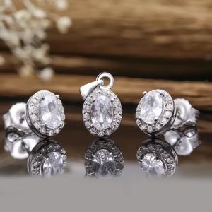 Bộ trang sức bạc Kura Like