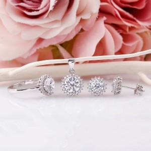 Bộ trang sức bạc Kwila Love