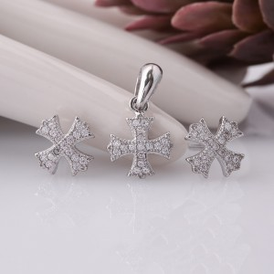 Bộ trang sức bạc Leme Love