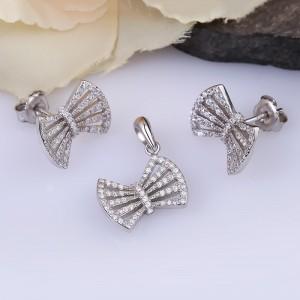 Bộ trang sức bạc Len Bow