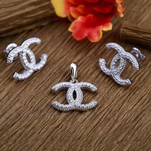 Bộ trang sức bạc Little Chanel