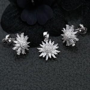 Bộ trang sức bạc Love Daisy
