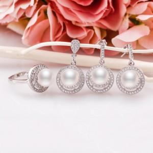Bộ trang sức bạc Luis Love