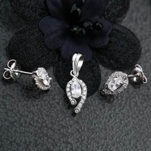 Bộ trang sức bạc Matcha Love