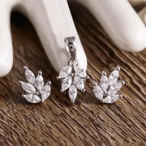 Bộ trang sức bạc Morgana Love