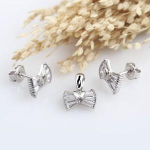 Bộ trang sức bạc Nice Bows