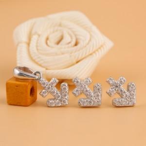 Bộ trang sức bạc Quen Love
