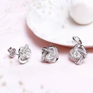 Bộ trang sức bạc Shining Love