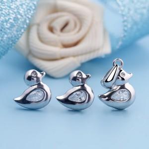 Bộ trang sức bạc The little Duck