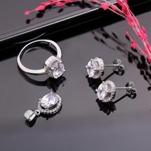 Bộ trang sức bạc Vitality