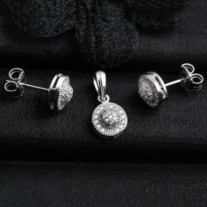 Bộ trang sức bạc Zine Circle