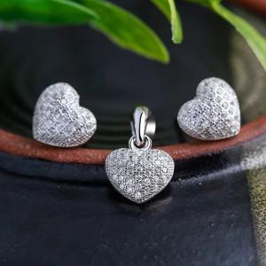 Bộ trang sức bạc Your Heartbeat