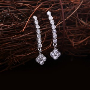 Bông tai bạc Athenan Flower