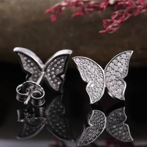Bông tai bạc Cher Butterfly