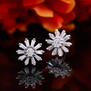 Bông tai bạc Little Hera Flower