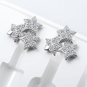 Bông tai bạc Van Star