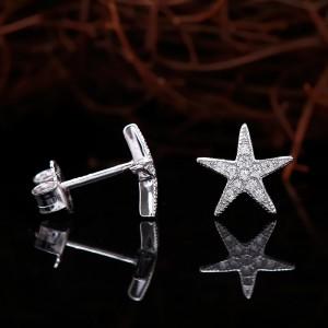 Bông tai bạc Vivi Star