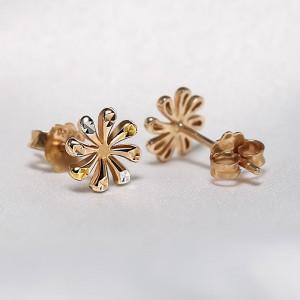 Bông tai vàng 18K Tog Flower