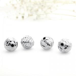 Hạt charm bạc 105000071