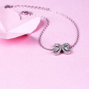 Lắc tay bạc Butterfly Love