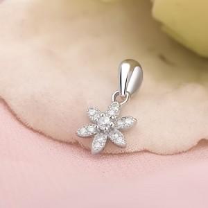 Mặt dây chuyền bạc Amada Flower