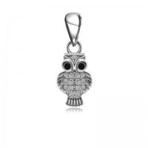 Mặt dây chuyền bạc Beauty Owl