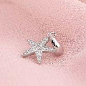 Mặt dây chuyền bạc Beauty Starfish