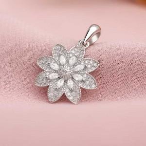 Mặt dây chuyền bạc Cher Flower
