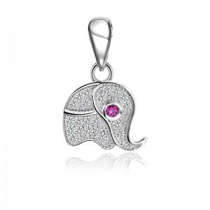 Mặt dây chuyền bạc Elephant