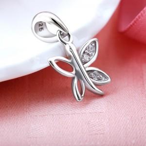 Mặt dây chuyền bạc Ely Butterfly