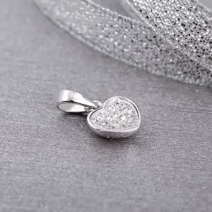 Mặt dây chuyền bạc Leona Love
