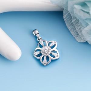 Mặt dây chuyền bạc Luhan Flower
