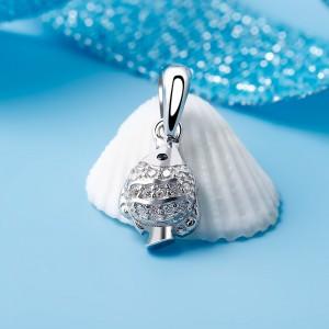 Mặt dây chuyền bạc Mary Love