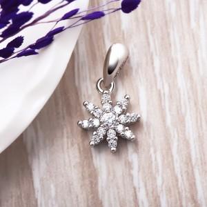 Mặt dây chuyền bạc Sallin Flower