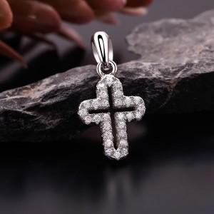 Mặt dây chuyền bạc The Cross