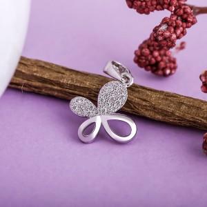 Mặt dây chuyền bạc Tiny Butterfly