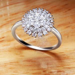 Nhẫn bạc Alaska Love