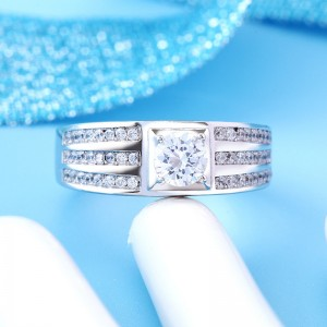 Nhẫn bạc Alice