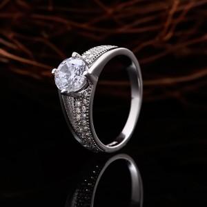 Nhẫn bạc Alida Baby